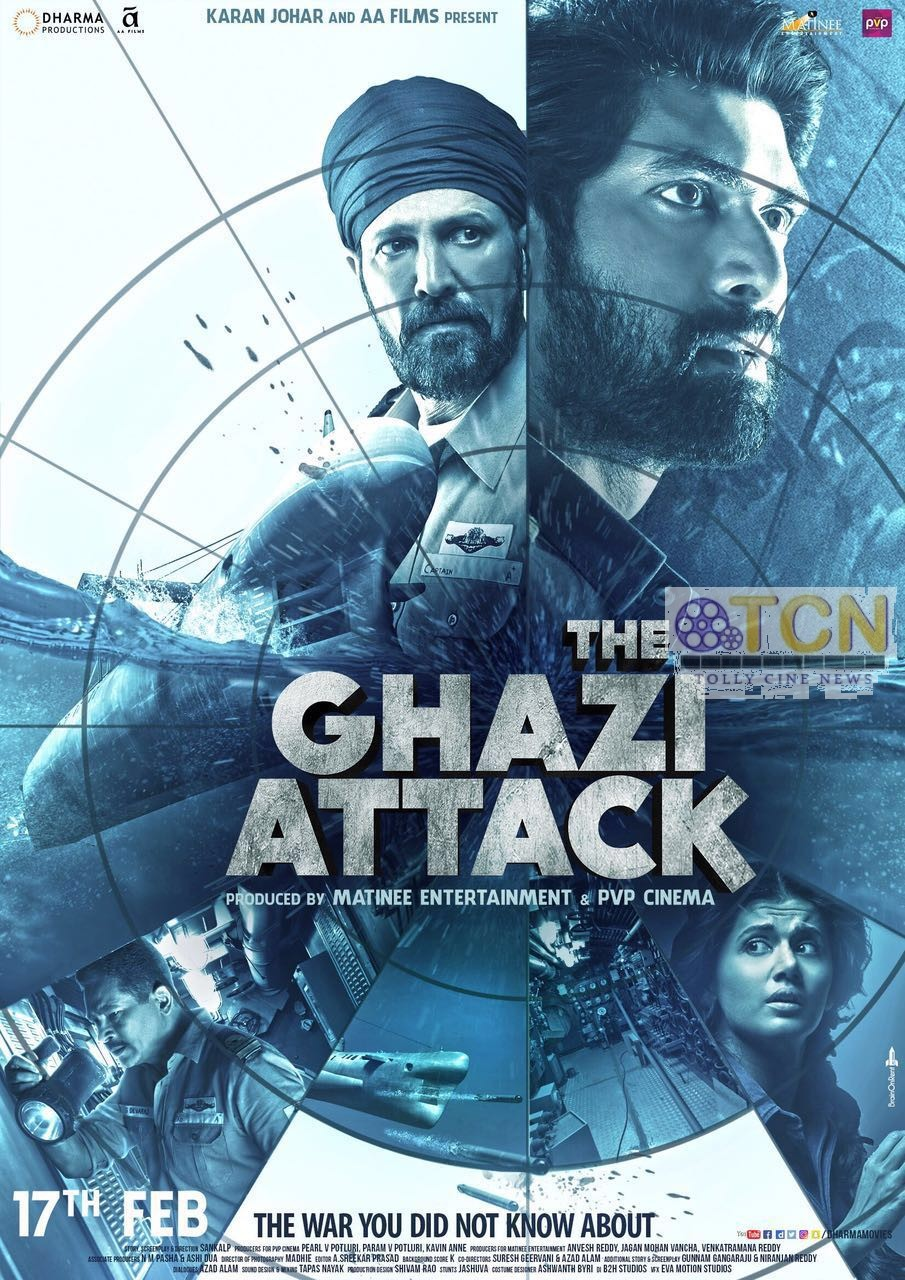 The Ghazi Attack Full movie watch online
