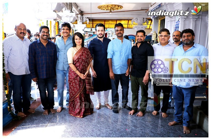 Actor Akhil New Movie Launch