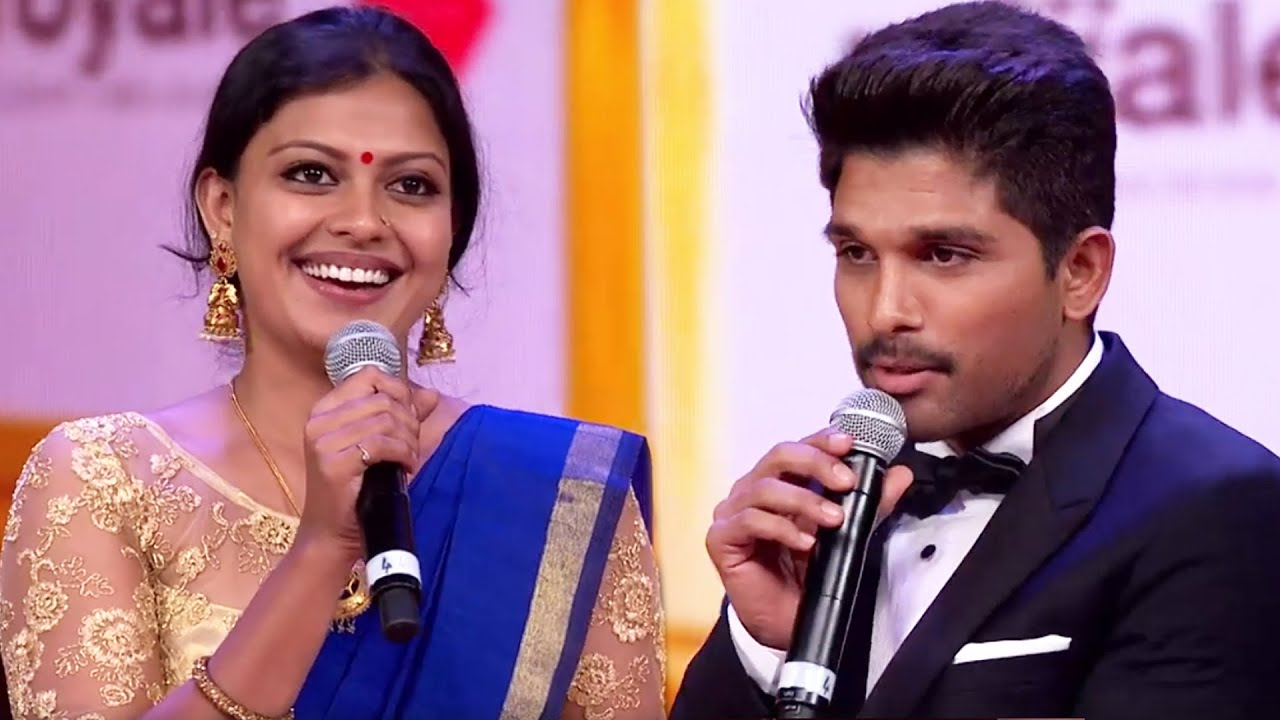 Allu Arjun Appreciates Anusree For Styling In Indian Outfit
