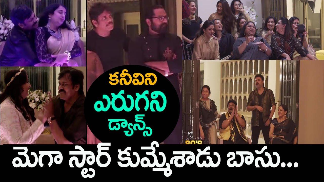 Chiranjeevi super dance with 80s heroines