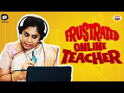 Frustrated Woman As Frustrated Online Teacher latest web series