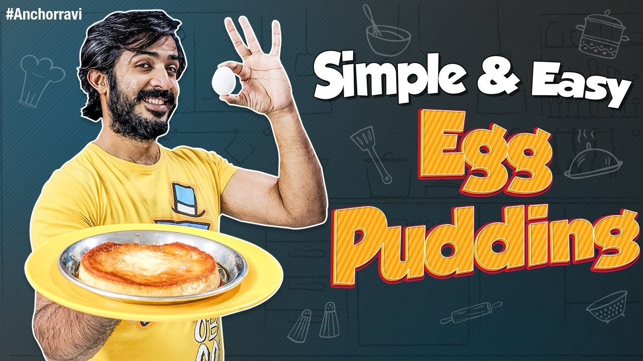 Achor ravi How To Make Egg Pudding in Pressure Cooker