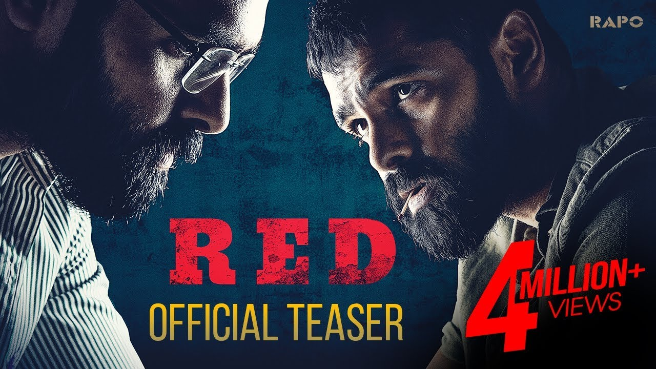 Actor ram RED Official Movie Teaser Out