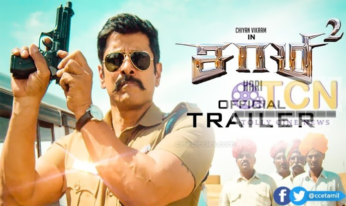 Saamy²  Trailer  Chiyaan Vikram and Keerthy Suresh and Hari  and Devi Sri Prasad and  Shibu Thameens
