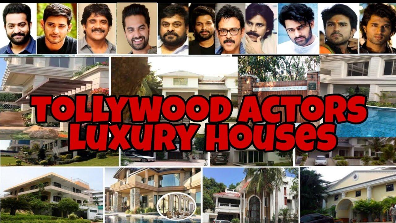 Telugu film actors houses