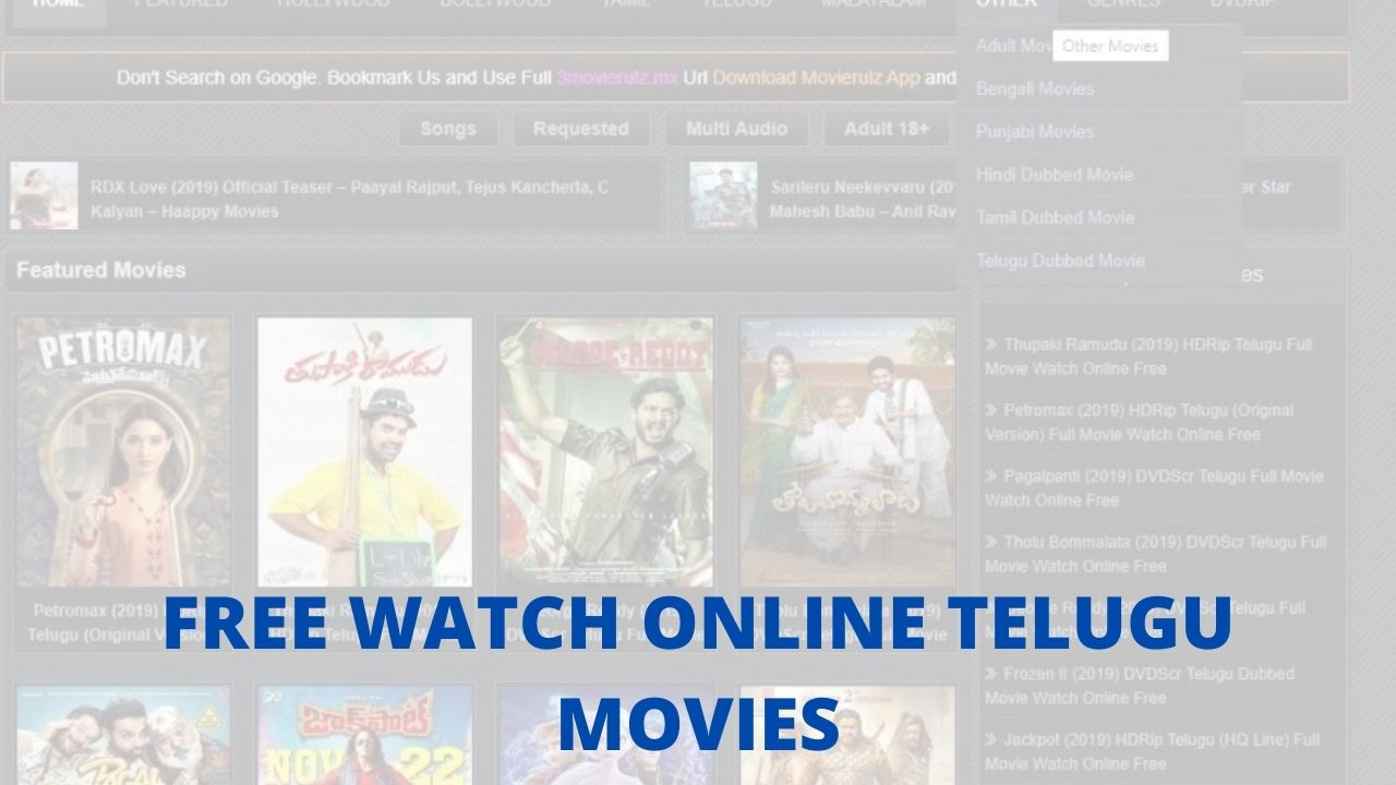 free watch online telugu movies