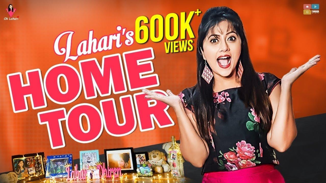 serial actress Lahari Home Tour